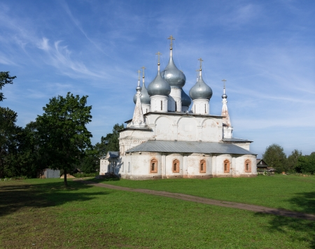 Holy Cross Cathedral of Tutaev city, Russia   Day light