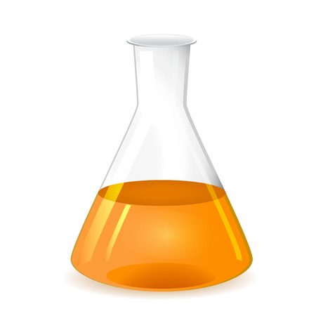 erlenmeyer: Chemical conical flask