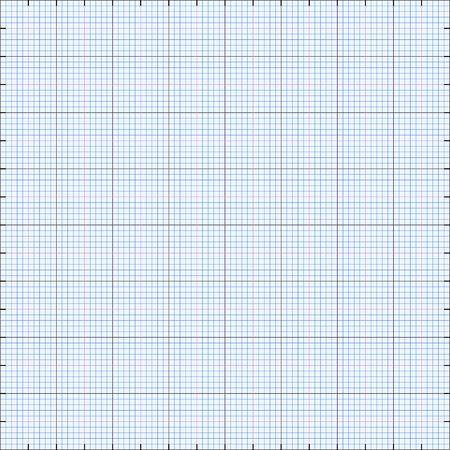 hoja cuadriculada: Gr�fico de fondo la red de papel, color azul, 2d ilustraci�n, vector