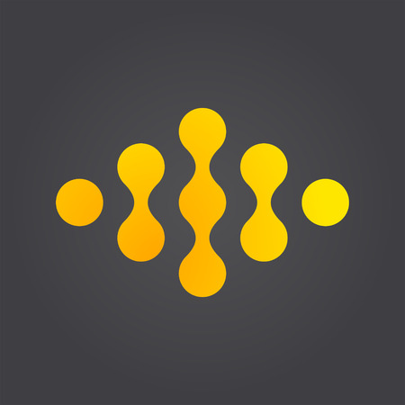 Link connection logo concept Illustration