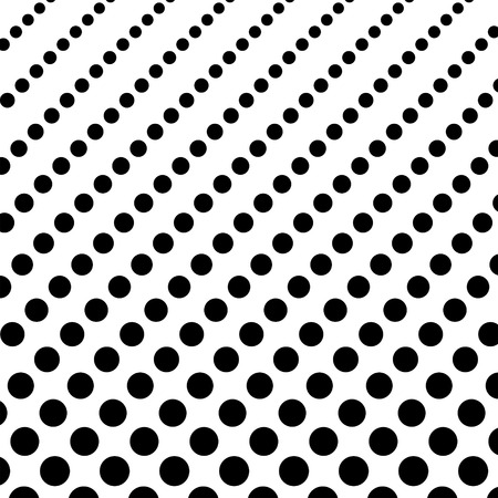 pointed: Pointed background pattern, white and black color, haltone, effect, 2d vector