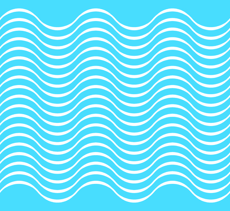 Water wave seamless background, silk cloth, 2d vector,