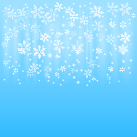 northern light: Snow winter background, 2d vector pattern, eps 10