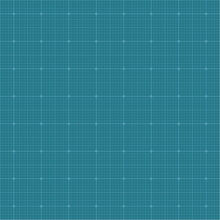 breadth: Graph paper grid background, dark blue color, 2d vector