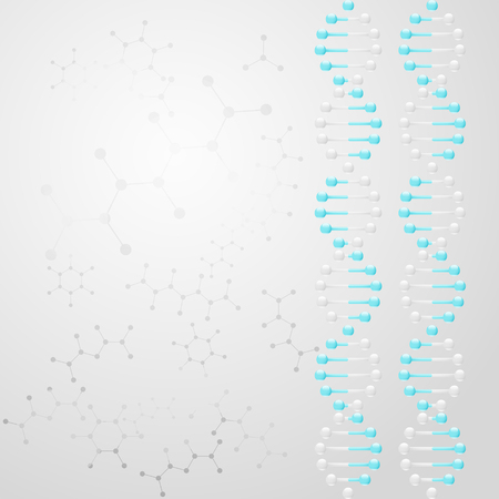 dna double helix: DNA scientific background, double helix pattern, vector, eps 10 Illustration