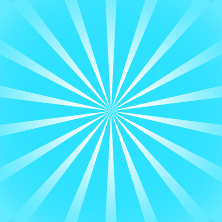 helical: Blue sun ray background with gradient rays