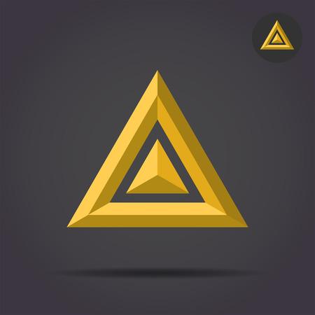 solid figure: Delta lettera segno