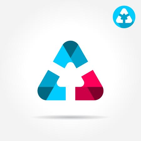 alicates: icono de la letra Delta con bordes lisos redondeados, icono, ilustración vectorial 2d sobre fondo gris