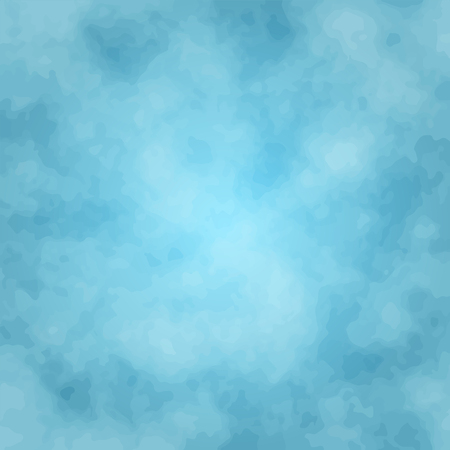 Cloudy blue texture background, 2d vector background illustration 矢量图像