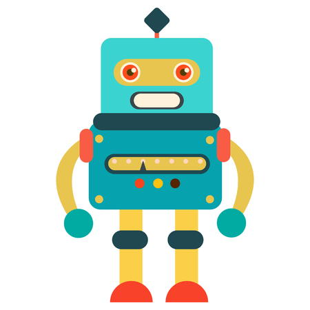 robot icon design Vector illustration.