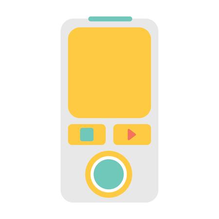music digital icon Illustration