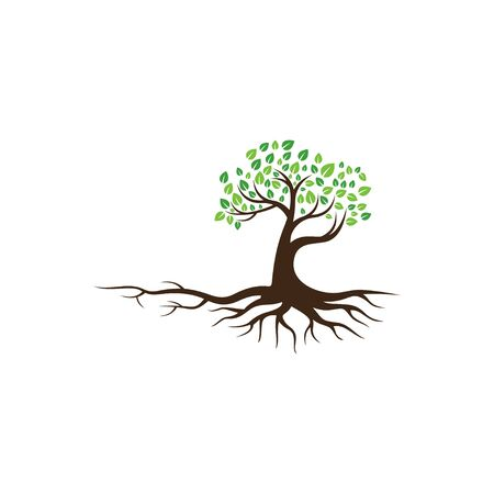 Creative Tree Logo and Icon Vector Template