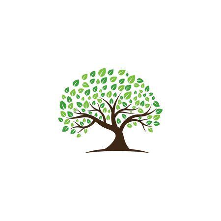 Creative Tree Logo and Icon Vector Template ЛОГОТИПЫ