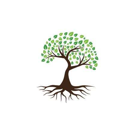 Creative Tree Logo and Icon Vector Template Logos