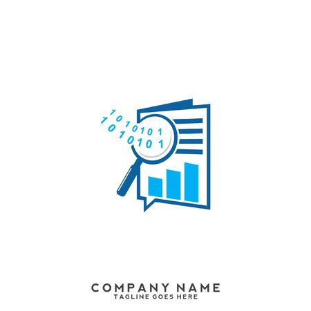 finance concept Business, growing graph logo, graph increases with the incorporation of hand elements that emphasize financial advisers Ilustrace