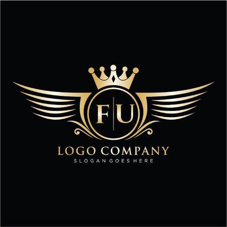 Initial handwriting logo design beautiful design handwritten logo for fashion, team, wedding, luxury logo.
