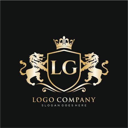 Initial handwriting  design Beautiful design handwritten for fashion, team, wedding, luxury . 免版税图像 - 150466688