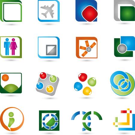 digital:  collection buttons Digital Illustration