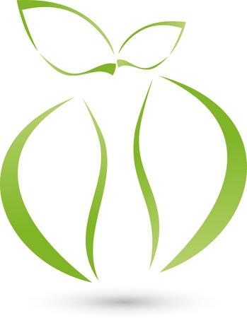 アップルは、本体、ロゴ 写真素材 - 42176796