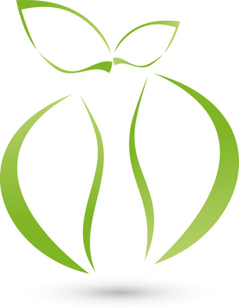 Apple, body, Logo