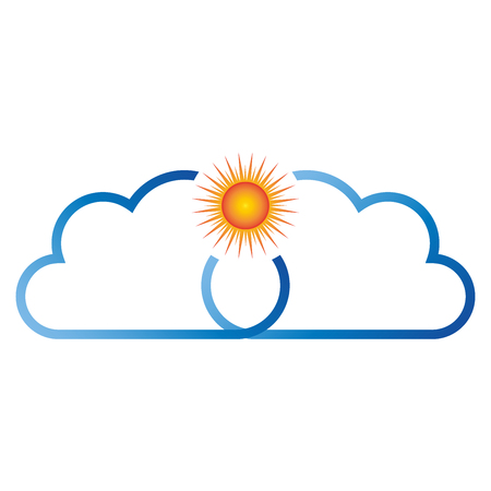copywriter: Sun and clouds, Weather