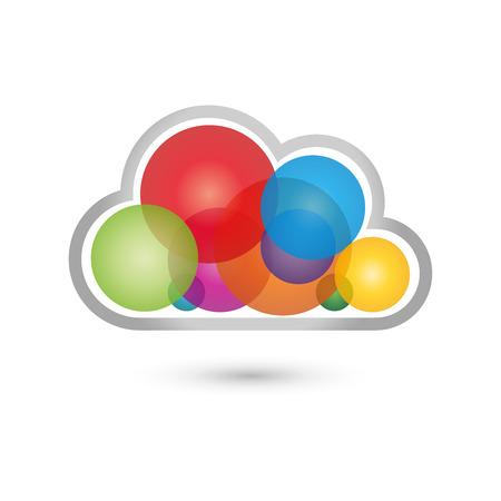 copywriter: Cloud, color, Cloud Computing