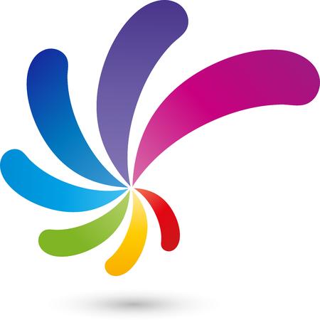 Spiral Logo, Multimedia, colored
