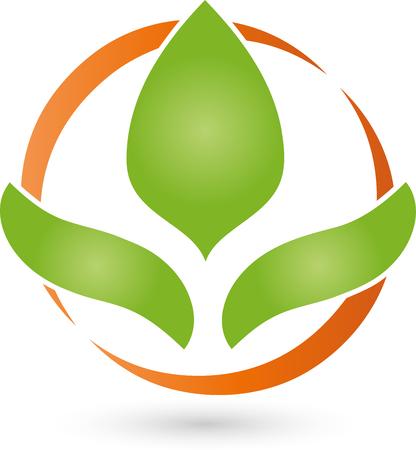 Crest of Leaves, Logo, naturopaths Logo