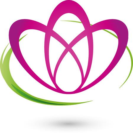 balsam: Flower, Logo, naturopaths, Wellness