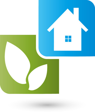 naturopaths: House and leaves, Services Illustration