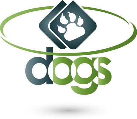 copywriter: Dogs paw Illustration