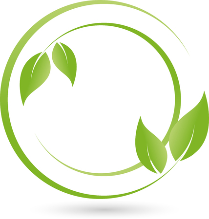 energy healing: Leaves, Plant , Bio, Naturopaths Illustration