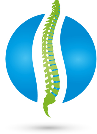 intervertebral disc: Back, Spine, Orthopedics, Massage Logo