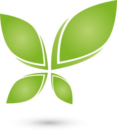 energy healing: Plant, Leaves icon, Bio, Naturopaths Illustration