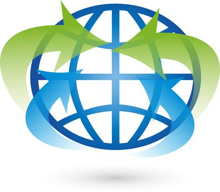 environmental policy: Earth, Globe, Logo