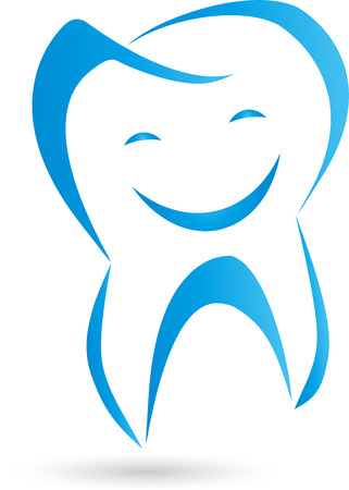 Logo, teeth, laughing, tooth, dentist