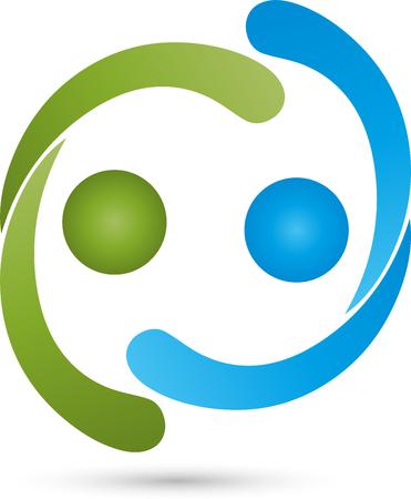 Partnership concept icon