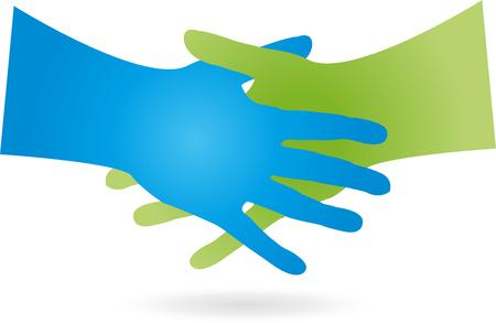 settle: Handshake illustration