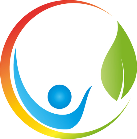 Human, Leaf, Alternative Therapist, Sun, illustration
