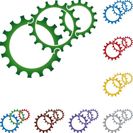locksmith: Gears, metal industry, locksmith