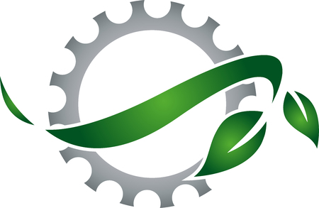 installer: Gear and leaves, metal industry, locksmith