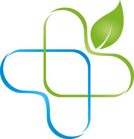 Medicine, Sheet, Plus, Medical Logo Illustration