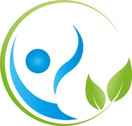 naturopath: A person and leaves, chiropractor, naturopath