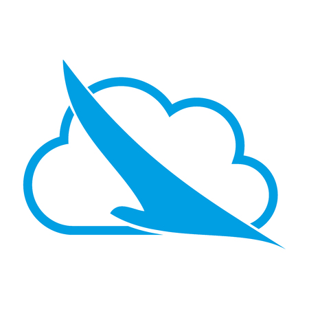throttle: Bird and cloud, bird in flight