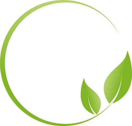naturopath: Circle, leaves, plant, naturopath, nature