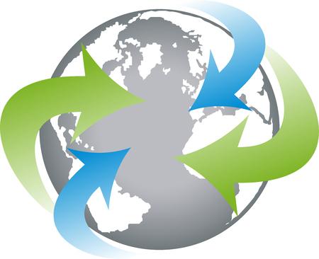 Earth, globe, world globe, vector
