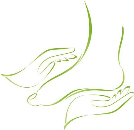 Foot, hands, footcare, massage