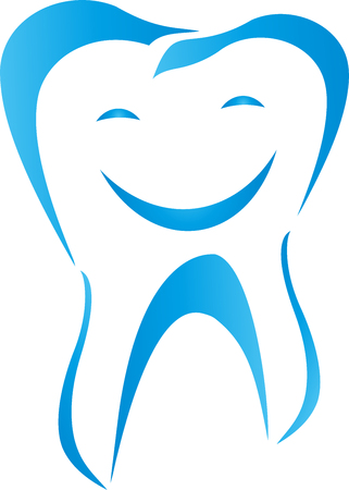 Tooth, Face, Smiling, Laughing, Dentist Illustration