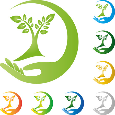 naturopath: Plant, leaves, hand, naturopath, nature