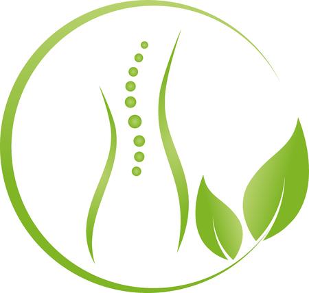 Woman, Human, Leaves, Alternative Therapist, Spine